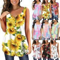 Women Summer Short Sleeve T Shirt Blouse Ladies Button Neck Basic Tee Tops Ceng