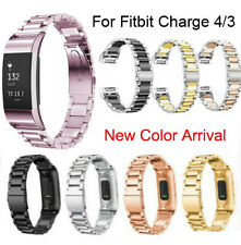 For Fitbit Charge 4 3 3SE Wrist Bracelet Watch Band Stainless Steel Metal Strap