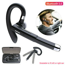 Bluetooth Earphone Driving Headset Earpiece Earhook Handsfree for iPhone Android