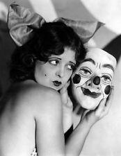"Vintage Circus Clown Carnival Sideshow Photo Print 14 x 11"""
