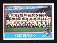 1976 Topps #172 Texas Rangers Team Photo Unmarked Checklist Baseball Card EX/MT+