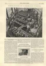 Estación de bombeo de 1914 para taller de reparación de Viaje Bolso Dock Liverpool den