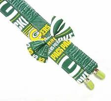 Green Bay Packers Suspenders By SweetLooks Collection