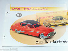 Dinky Toys Atlas - Fascicule SEUL de la Buick Roadmaster (Booklet only)