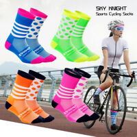 Unisex Racing Cycling Socks Outdoor Sports Socks Compression Nylon Socks