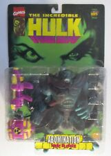 The Incredible Hulk Abomination Toxic Blaster Marvel Comics Toy Biz 1996 New
