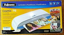 Fellowes Cosmic 95 95 Hot Amp Cold Laminator With Box Amp Instructions