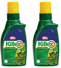 Lot Of 2 KILLEX Lawn Weed Dandelion Killer Concentrate 1L Herbicide