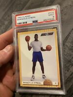 Shaquille O'neal PSA 9 Minty Mint 1993 Classic SHAQ #104 INVEST for INFLATION NR