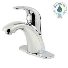 "Pfister Parisa 4"" Centerset 1 Handle Bathroom Faucet Polished Chrome W/DRAIN"