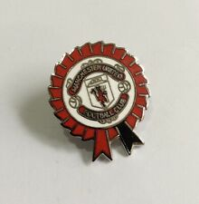 MANCHESTER UNITED Football Club FC Badge Enamel Supporters UTD MUFC Pin 79