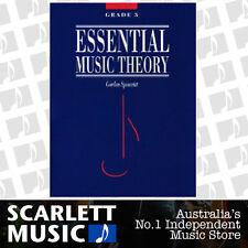 Essential Music Theory Grade 3 ( Three ) - Gordon Spearritt Book
