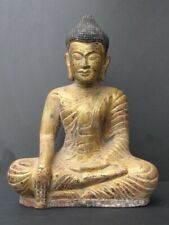 Bouddha Khmer en Bois Massif CAMBODGE