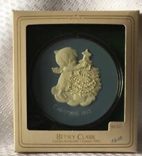 Hallmark Betsey Clark Cameo Porcelain Ornament Christmas 1982 Vintage New in Box