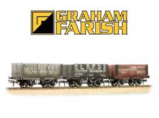 Farish 377-097 Coal Trader Triple Pack 7 Plank Private Owner Wagons N Gauge