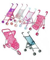 Baby Play Toy Doll Crib Pram Strollers Pushchair Buggy