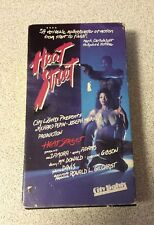HEAT STREET (VHS) Rare! Only on VHS DEL ZAMORA VIGILANTE ACTION