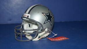 """Dallas Cowboys NFL Riddell 4.4 """" Tall Football Helmet for Desk / Display"""