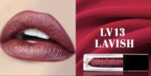 Palladio Velvet Matte Metallic Cream Lip Color Lavish Jewel Candy Pink Vegan