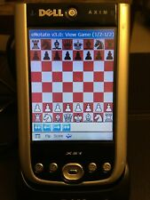 Edell Axim X51 with electronic chess notation software