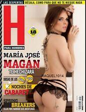 REVISTA H MARIA JOSE MAGAN MARCH/MARZO 2016  H PARA HOMBRES MEXICAN MAGAZINE NEW