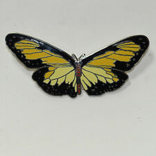 "Vintage ""Butterfly� Enamel Cloisonné Brooch for The Bishop Museum New"