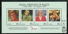 SAMOA # 956  PRINCESS DIANA  MEMORIAL Souvenir Sheet