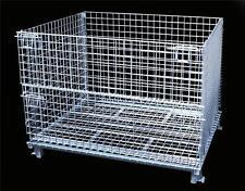 Wire Baskets cargotainer palletainer for pallet rack wire basket Atlas 40x48x36