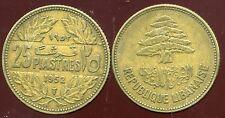 LIBAN  25 piastres   1952