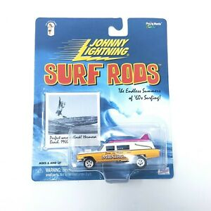 Johnny Lightning ~ Surf Rods ~ Series 2 ~ Santa Monica Maniacs ~ NIP