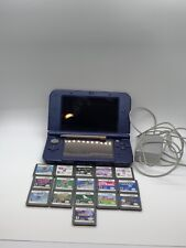 Nintendo 3DS XL Galaxy Style 1GB Purple Handheld Console Gaming 16 Games Bundle