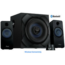 Bluetooth Wireless 2.1 Speaker System with Subwoofer for Music, Movies, PC Games