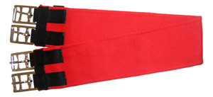 Cotton Girth Lamp Wick - Red color