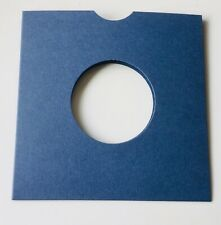 50 x 7 inch Denim jeans  Coloured Card Record Sleeves Free post & packing