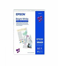 Epson Bright White Inkjet Paper Printing on Both Sides, A4 Size - 500 Sheets