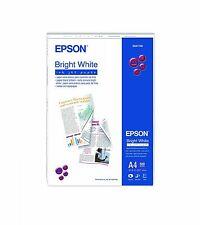 Epson blanco brillante papel de inyección de tinta de impresión en ambos lados, tamaño de A4 - 500 Hojas