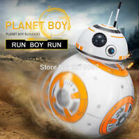 2.4G RC Remote Control Robot BB-8 Ball Star Wars Sound Action Figure Toys Gifts