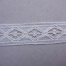 "Antique Style Scalloped Embroidery Cotton Crochet Lace Trim 2.2""(5.5cm) Wide 1Yd"