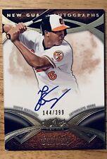 2014 Topps Jonathan Schoop Auto 144/399 Baltimore Orioles