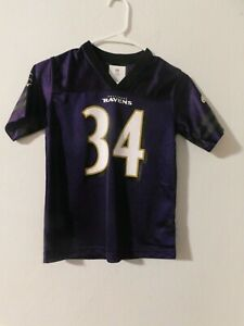 Baltimore Ravens  #34 Alex Collins Girl's Small 6/7 Jersey