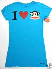 Paul Frank T Shirt Blue I Heart Julius 100% Cotton Paul frank