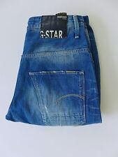 MJ1580 Men G-Star Raw Denim Arc 3D Loose Tapered Blue Jeans Size W31 L32