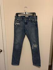 Men Abercrombie & Fitch Skinny Jeans Everyday Denim 30x30 Ripped