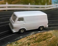 Resin HO scale 1965 Ford Econoline van T-jet new 2017 casting.