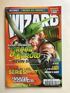 WIZARD Comics Magazine vol 1 #8  2001 French  Green Arrow Cvr 2/2