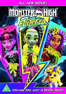 MONSTER HIGH: ELECTRIFIED DVD NEW