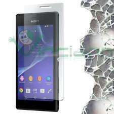 Pellicola VETRO temperato trasparente protezione display per Sony Xperia M2
