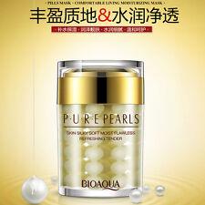 Pearl Essence Face Cream Mask Tender Smooth Moisturizing Skin Care Anti Wrinkle