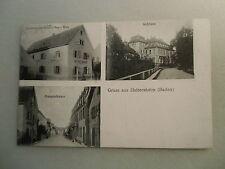 Ansichtskarte Heitersheim Baden 1916 ? Ortsansicht Gasthaus zum Schiff Inh. Walz