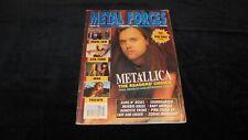 METAL FORCES magazine rivista n.69/1992 GNR morbid angel metallica lita ford msg